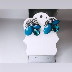 Gem & Pearl Statement Earrings